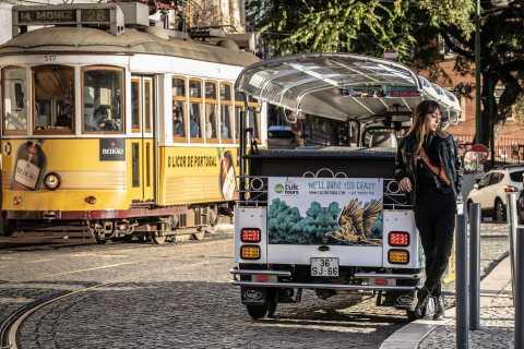 Lisbonne: parcours de 2h du tram 28 en tuk-tuk écologique