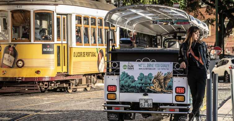 Lisbon: 2-Hour Historic Tram 28 Tour by Eco Tuk-Tuk