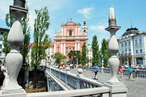 From Koper: Ljubljana Private Walking Tour with Transfers