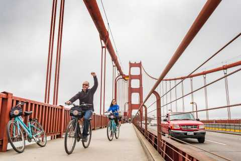 Golden Gate Bridge: 3-Hour Sausalito Cycle Tour