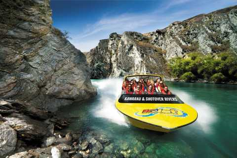 Queenstown: Shotover River and Kawarau River Jet Boat Ride