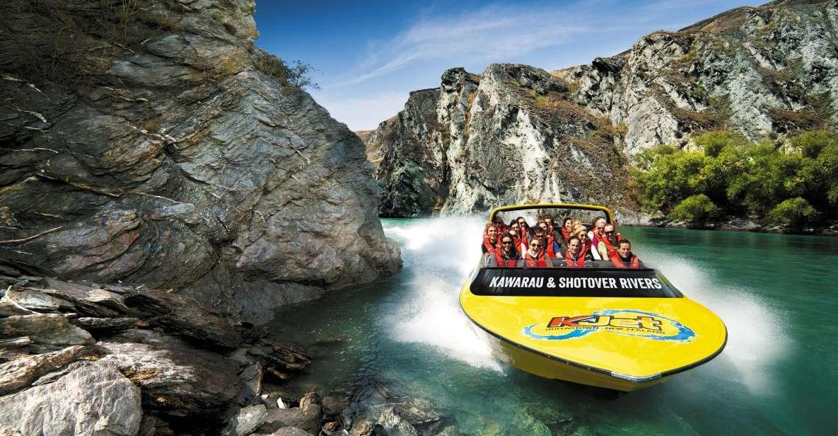 Queenstown: Jetbootsfahrt Shotover River und Kawarau River