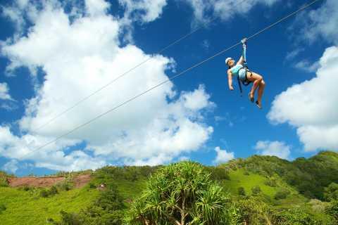 Kauai: Eco-Friendly 8-Line Zipline Adventure in Poipu
