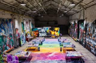 Berlin: Straßenkunst und Graffiti – Tour mit Atelierbesuch