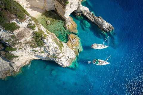 De Agia Efimia: cruzeiro de vela para Ithaki