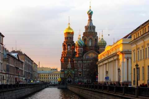 San Petersburgo: recorrido histórico a pie y experiencia en metro