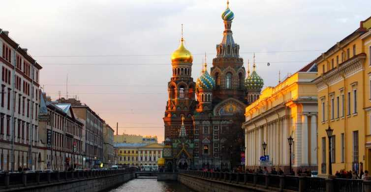 St. Petersburg: Historical Walking Tour and Metro Experience