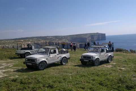 Malte: croisière en cabine et excursion combinée en jeep à Comino et Gozo