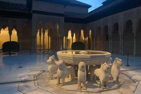 Alhambra Night Tour of Nasrid Palaces & Carlos V Palace