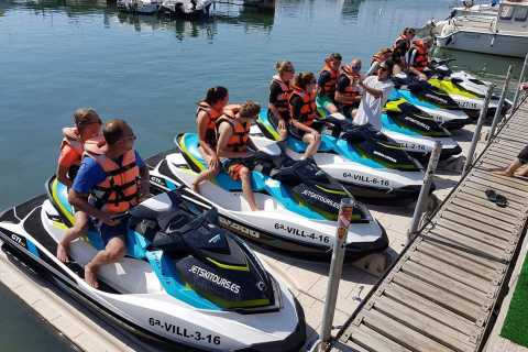 Salou: SUV Tour and Jet Ski Experience