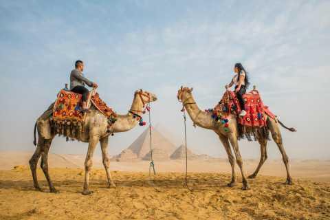 Da Il Cairo: Piramidi di Giza, Sfinge, Saqqara e Dahshur