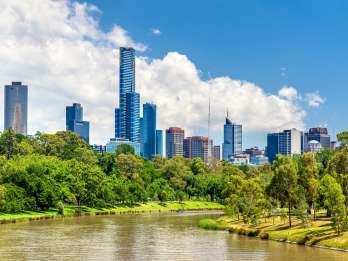 Melbourne und Williamstown: Fährenfahrt