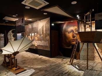 Rom: Da Vinci Experience und Eingang zum Petersdom
