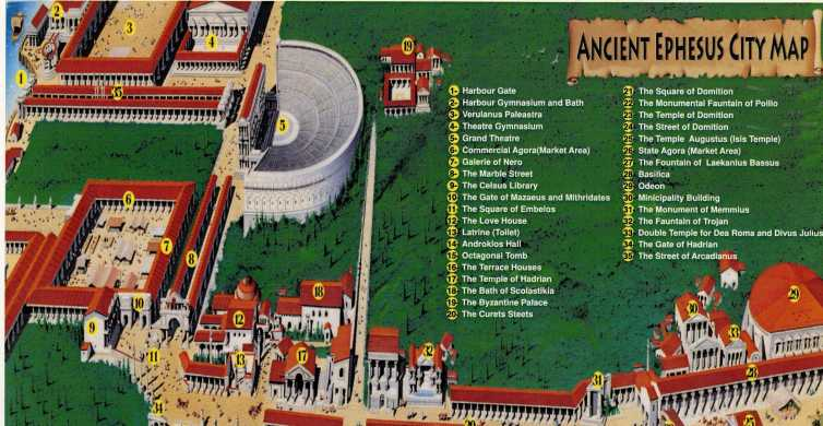 Kusadasi: Small Group Ephesus Tour