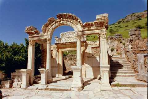 From Kusadasi: Ephesus & House of Mother Mary Tour