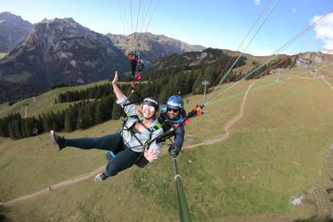 Lucerne and Engelberg: Paragliding Tandemflight