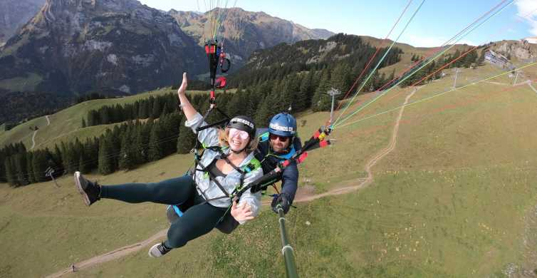 Lucerne and Engelberg: Paragliding Tandemflight
