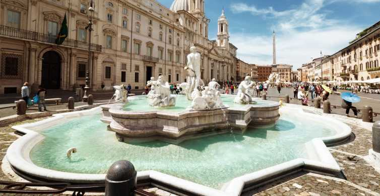 Rome: Best Squares and Fountains Private Tour