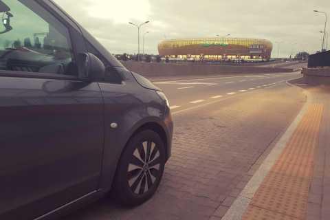 Gdansk: Transfert privé de l'aéroport (GDN) à la ville de Sopot