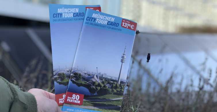 CityTourCard Munich: Public Transport & Discounts