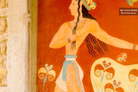 Knossos Palace Admission and Guided Walking Tour in German