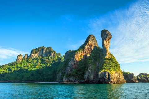 From Krabi: 4 Islands Snorkeling Tour by Speed Boat