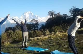 Kathmandu: 9-tägiger Ghorepani Poon Hill Yoga Trek