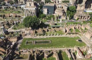 Rom: Privates Kolosseum, Forum Romanum und Palatin Hill Tour