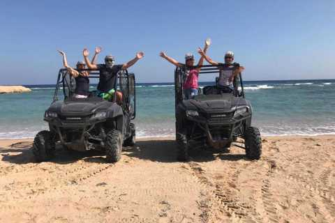 Hurghada: Sunrise or Sunset Quad and Buggy Coastal Tour