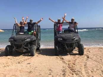 Hurghada: Quad und Buggy-Küstentour zu Sonnenauf-/untergang