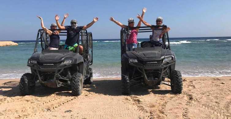 Hurghada: kusttocht quad & buggy zonsopkomst of -ondergang