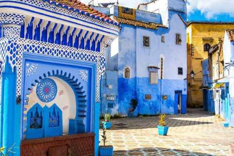 Tangier: Chefchaouen & Akchour Waterfalls Instagram Tour