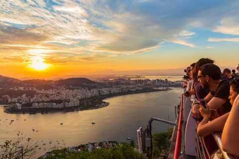 Christ the Redeemer, Selarón Stairs & Sugar Loaf Sunset Tour