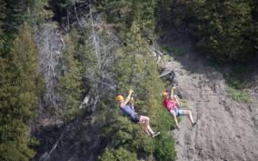 Quebec City: Double Zipline Across Montmorency Falls