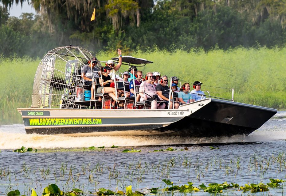 Orlando: Wildlife Watching Everglades Airboat Ride