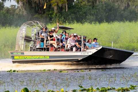 Orlando: wilde dieren spotten met hovercraft in Everglades