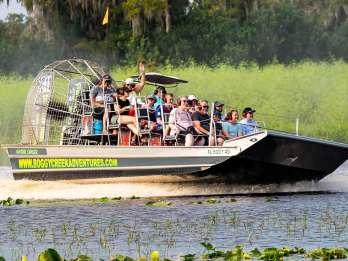 Orlando: Everglades-Airboatfahrt mit Wildtierbeobachtung