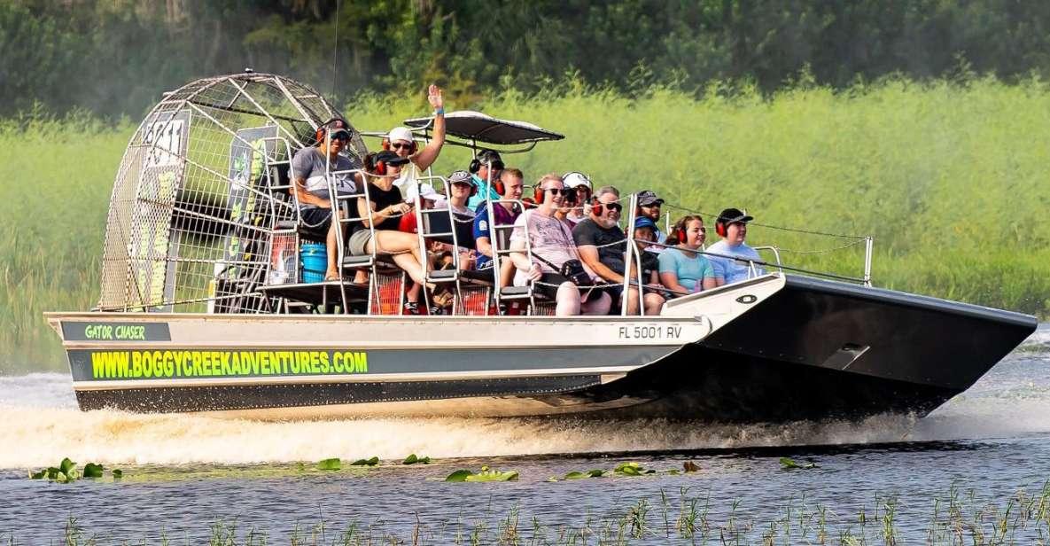 Orlando: passeio de barco no Everglades para observação da vida selvagem