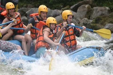 Rio de Janeiro: Guided River Rafting Tour