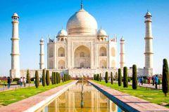 Deli: Viagem de um dia com tudo incluído ao Taj Mahal e Agra de trem