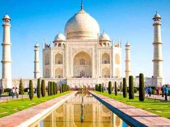 Delhi: All-Inclusive-Tagesausflug nach Taj Mahal und Agra mit dem Zug