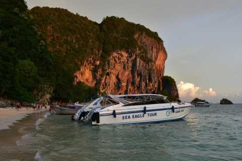 Krabi: Private 4-Island Sunset Tour with Dinner