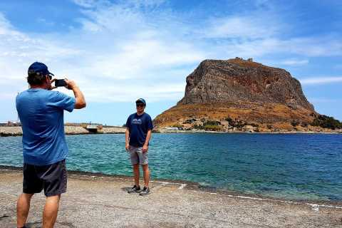 From Athens: Private Tour of Monemvasia