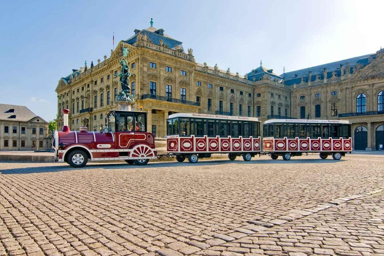 Würzburg: Sightseeing-Tour mit der Touristenbahn