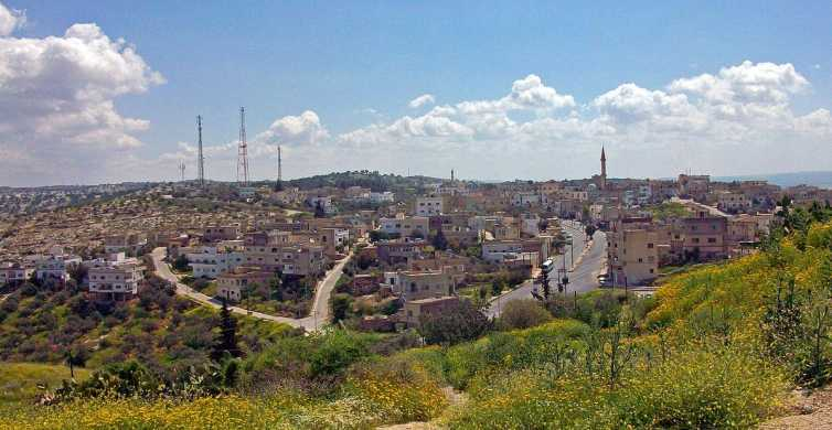 From Amman: Jerash, Umm Qais, and Jesus' Cave Private Trip