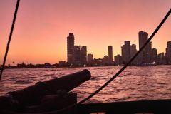 Cartagena: Cruzeiro ao Pôr do Sol em Navio Pirata e Open Bar