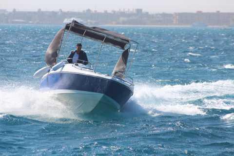Vanuit Hurghada: snorkelen, dolfijnen & watersporten