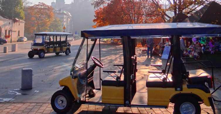 Krakow: City Tour by Electric Golf Cart