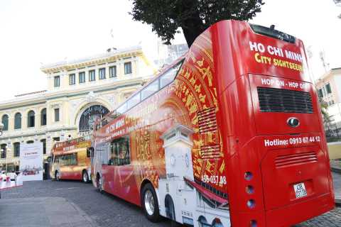 Ho Chi Minh City: Bus Tour with War Remnants Museum Ticket