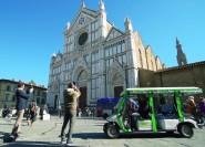 Florenz: Umweltfreundliche Golfwagen-Stadtrundfahrt